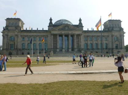 The Reichstag. No stags. I felt mislead.