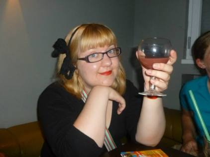 The hallowed first sangria.
