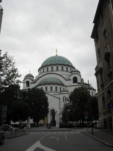 St Sava's. This thing is enormous.