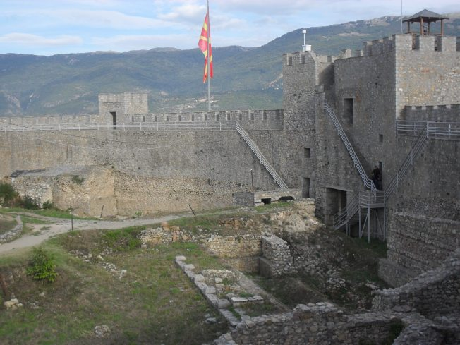 Samuil's Fortress.