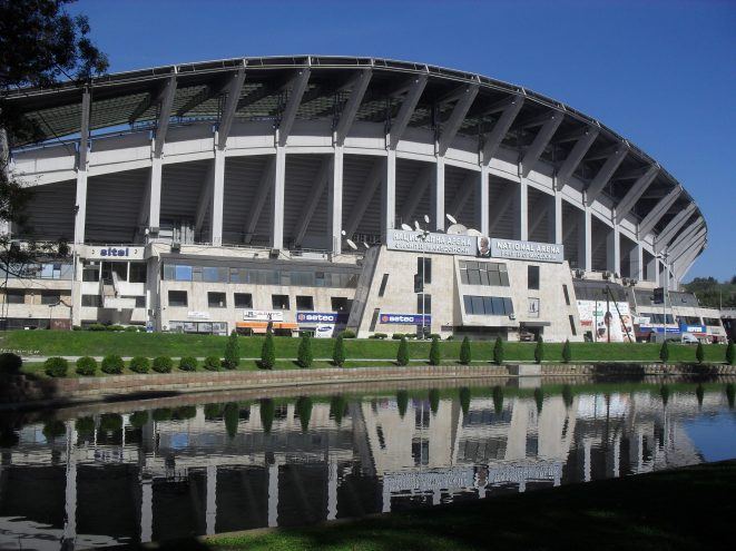 National stadium.