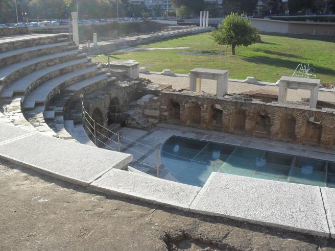 Odeon at the Agora.