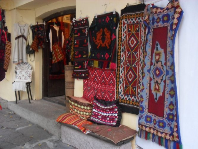 Shop in the old town.