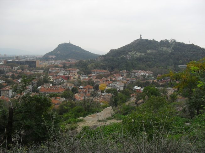 View of other hills.