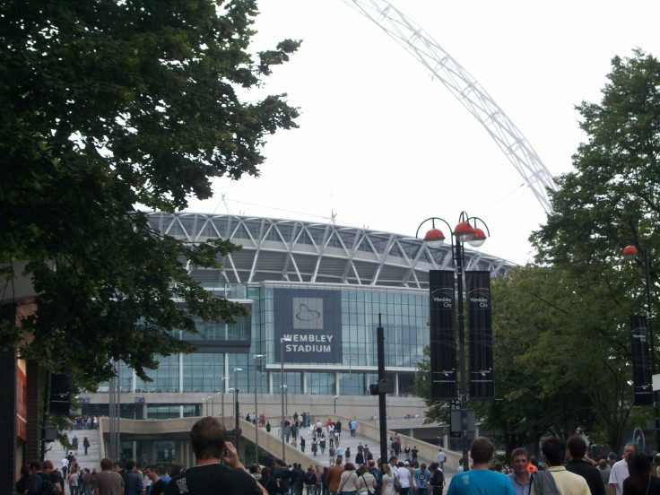 Wembley Stadium (on a busier day)