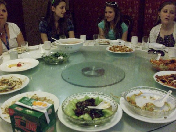 A Chinese-style Chinese restaurant experience.