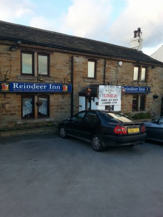THE REINDEER INN. I've always said that Yorkshire's so Northern it may as well be Scandinavia.