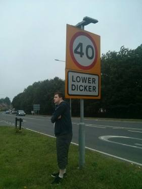 LOWER DICKER: Would be incomplete without...