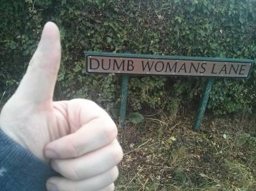 DUMB WOMANS LANE: ....don't worry, I'm going to see Suffragette at the cinema to make up for how much I laughed at this.