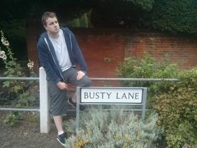 BUSTY LANE: Sadly, no breast augmentation businesses have taken advantage of the real estate opportunities down here.