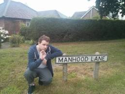 MANHOOD LANE: ...so this is the last pic. But we'll be back...