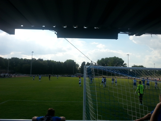 View from the stand.