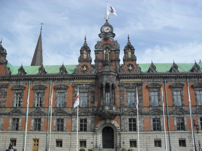 Malmo Town Hall, in Stortorget